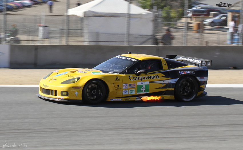 Compuware Corvette FIRE