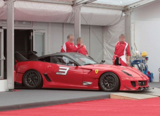FERRARI 599XX EVOLUZIONE
