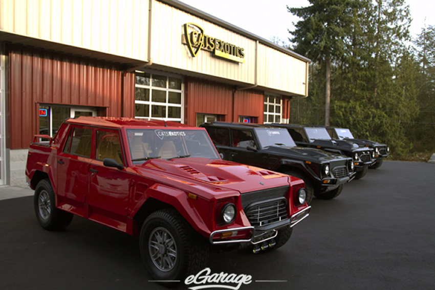 LM002CatsExotics7 Lamborghini LM002   3 Pigs and the Big Red Hood