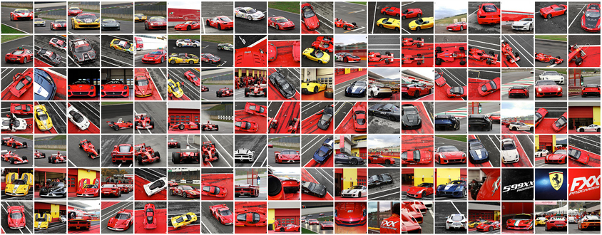 eGarage Ferrari photos Ferrari Challenge | From California to Italy