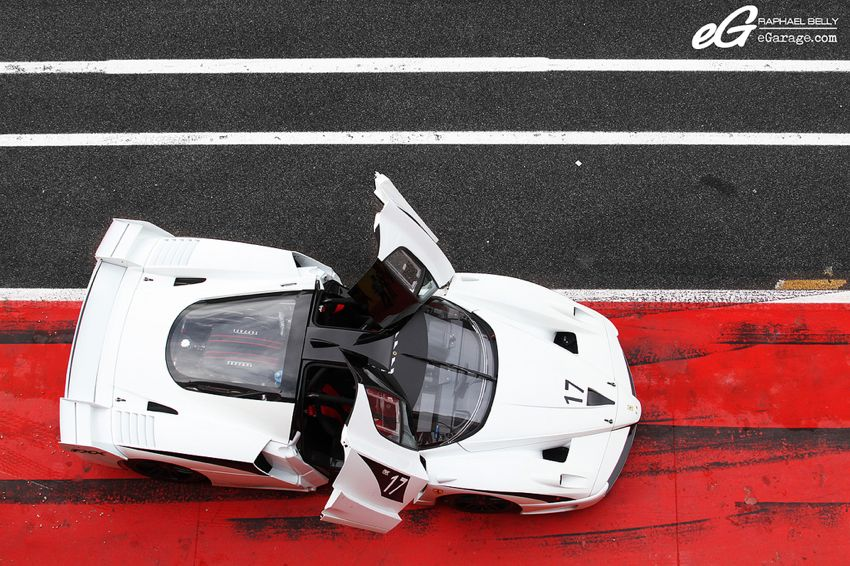 eGarage white Ferrari FXX Ferrari Challenge | From California to Italy