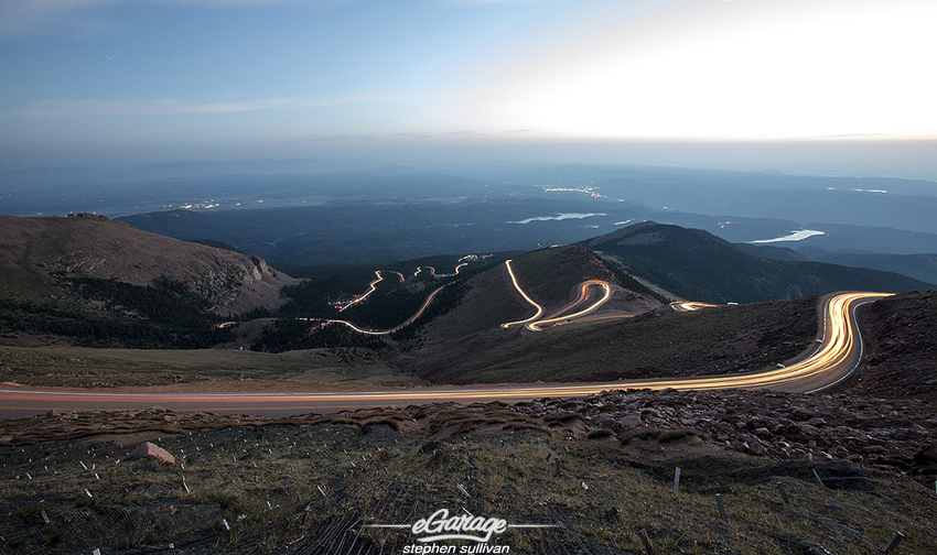 Pikes Peak Timelapse1 90th Pikes Peak International Hill Climb