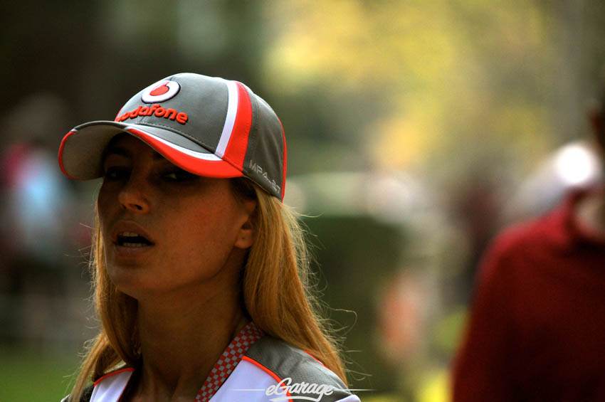 eGarage 2012 Italian Grand Prix Vodafone Girl