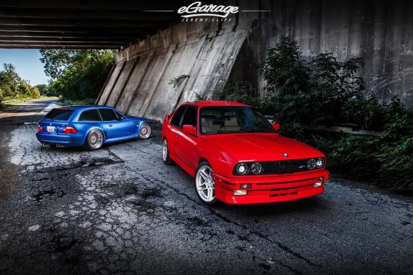 BMW M3 and Mcoupe BMW Throwback Thursday