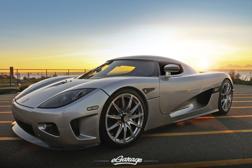 Cafe Racer Supercar Koenigsegg Ccx