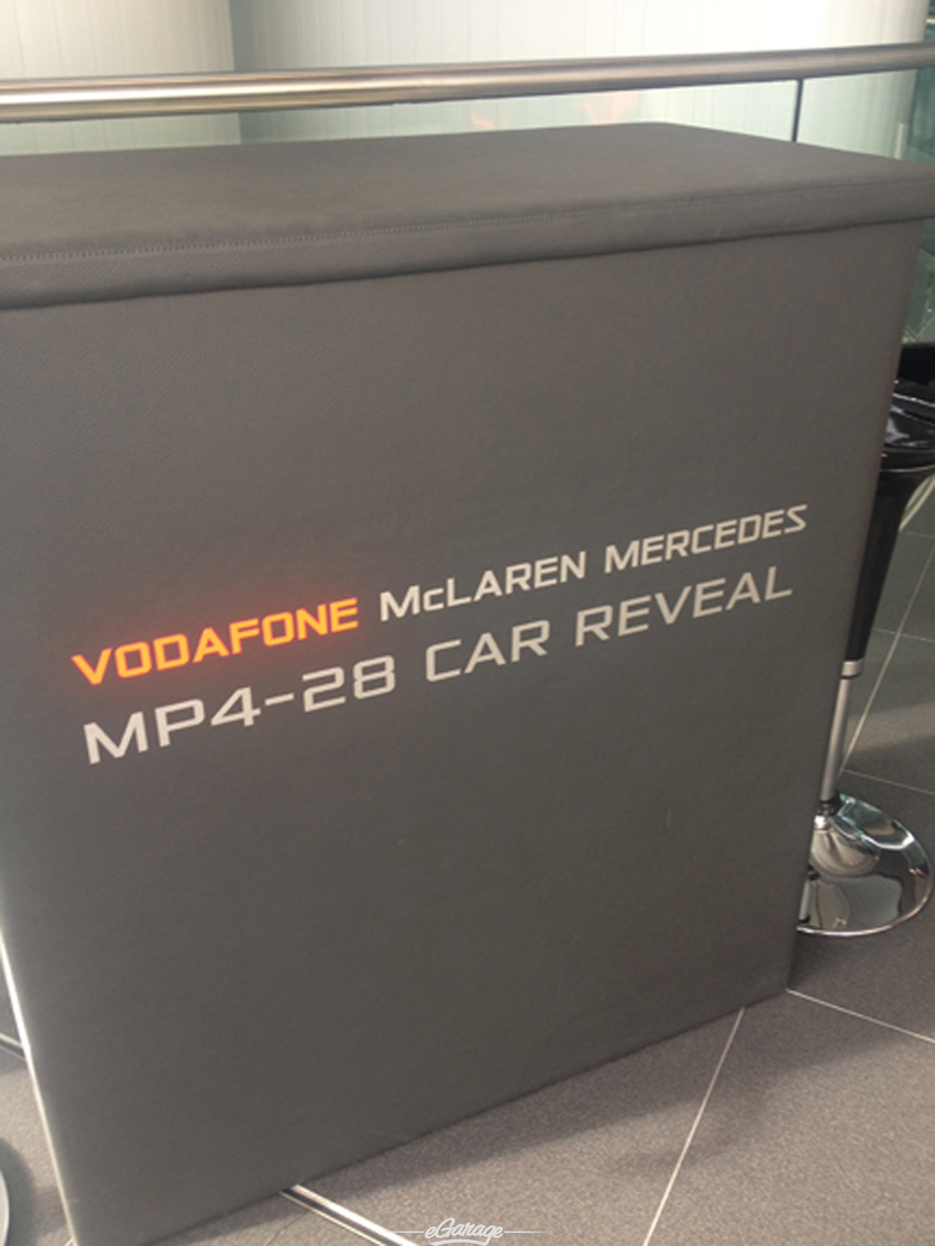 welcome McLaren MP4 28 Reveal
